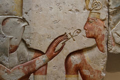 Horus e Ramses Immagine Stock