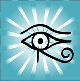 Horus eye. Eye of horus which is an Egyptian symbol royalty free illustration
