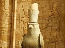 Horus Temple Stock Photo