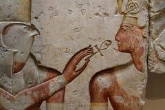 Horus und Ramses stockbild