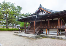 Horyu-ji Temple in Nara, Unesco world Heritage site, Japan Royalty Free Stock Photo
