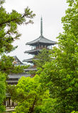 Horyu-ji Temple in Nara, Unesco world Heritage site, Japan Royalty Free Stock Photos