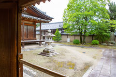 Horyu-ji Temple in Nara, Unesco world Heritage site, Japan Royalty Free Stock Image