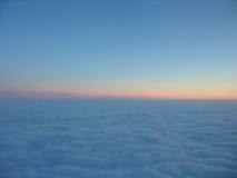 horyzon αεροπλάνο Στοκ Εικόνες