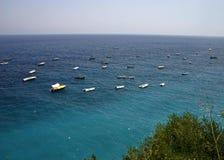 horyzont łódź Zdjęcie Stock
