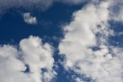 horyzont chmury Zdjęcia Royalty Free