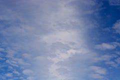 horyzont chmury Obrazy Stock