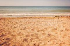 Horyzont i morze Fotografia Stock