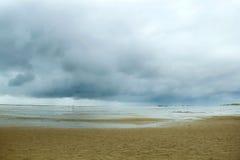 Horyzont morzem zdjęcie stock
