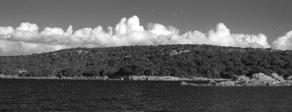 Horyzont w Sardinia Zdjęcia Stock