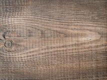 Horyzontalna drewniana deska z winietą Fotografia Stock