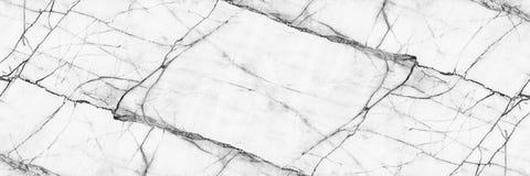 horyzontalna elegancka bielu marmuru tekstura dla wzoru i backgrou zdjęcia stock