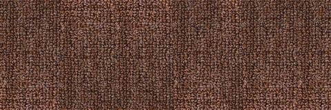 horyzontalna elegancka ciemnego brązu dywanowa tekstura dla wzoru i bac Obraz Royalty Free