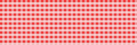 Horyzontalna elegancka kwadratowa czerwień sprawdzał wzór dla tła i Fotografia Stock