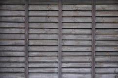 Horyzontalna tekstura ściana od kilka rzędów brown stare drewniane deski Malująca drewniana ściana w brown colo Fotografia Royalty Free