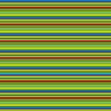 Horyzontalnego koloru pasiasty geometryczny wzór Zdjęcia Stock