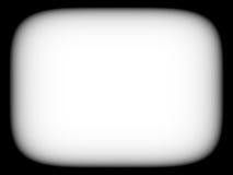 Horyzontalnego pustego miejsca tv ekranu pusty czarny i biały retro abstracti Zdjęcie Royalty Free