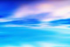 Horyzontalnego wibrującego przecinającego pocess pustego miejsca pusty dramatyczny cloudscape Zdjęcie Royalty Free