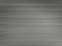 Horyzontalny czarny i biały przeplatający tv wykłada abstrakci backg Zdjęcia Stock
