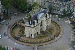 Horyzontalny Porte De Paryż, Lille - obraz stock