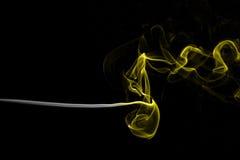 Horyzontalny strumień dym zdjęcie royalty free