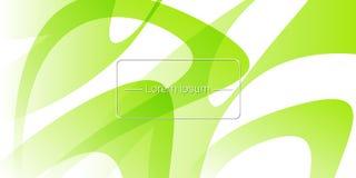 Horyzontalny sztandar tło abstrakcyjna green również zwrócić corel ilustracji wektora Fotografia Royalty Free