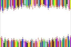horyzontalny tło ołówek royalty ilustracja