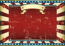 Horyzontalny textured amerykański tło royalty ilustracja