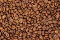 horyzontalny zamknięta kawowa horyzontalna tekstura kawowe fasole jako tło tapeta arabica cofee fasola Zdjęcie Stock