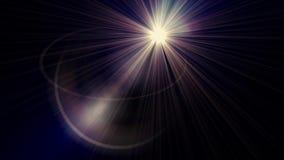 Horyzontalnych chodzeń świateł okulistyczny obiektyw migocze błyszczącego bokeh animaci sztuki tło - nowej ilości naturalna oświe zbiory wideo