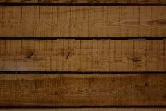 Horyzontalnych desek drewniana tekstura, tło Zdjęcie Stock
