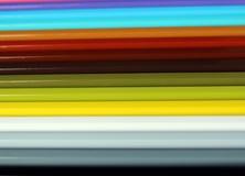 Horyzontalnych kolorów ołówków widma gradientowa tekstura Fotografia Royalty Free