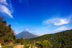 horyzontu wulkan Zdjęcia Stock