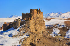 Hosap Castle in Eastern Anatolia Royalty Free Stock Photos