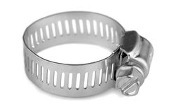 Hose clamp Royalty Free Stock Photos