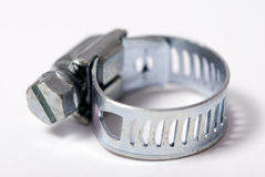 Hose clamp Royalty Free Stock Photography