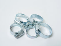 Hose Clamps Stock Image
