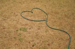 Hose heart Royalty Free Stock Photo