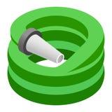 Hose isometric 3d icon Stock Image