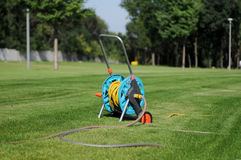 Hose in the park Stock Images