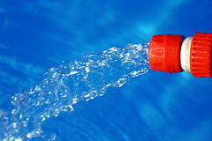 Hose Water jet Stock Images