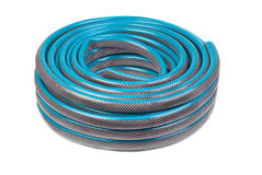 Hose for watering Stock Image