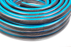 Hose for watering Stock Photo