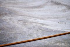 Hosepipe πέρα από το νέο ξηρό σκυρόδεμα στοκ φωτογραφίες με δικαίωμα ελεύθερης χρήσης