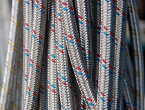 Hoses. Hose for water, goods for repair Royalty Free Stock Photos