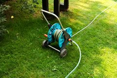 Free Hoses For Irrigation Stock Photography - 58001352