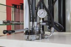 hoses hydrauliskt Arkivbild