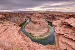 Horseshoe Bend, Colorado River Stock Photo