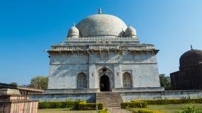 Hoshang Shah's gravvalv, öde på Mandu, Madhya Pradesh Arkivbilder