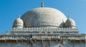 Hoshang Shah's gravvalv, öde på Mandu, Madhya Pradesh Royaltyfri Foto